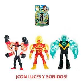 Ben 10 Figura Deluxe 15cm Sonido Luz Caffaro 76600 Mimitoys