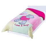 Colchas Concord Cboi0305 Cobertor Borrega Teddy Baby Dos Vis