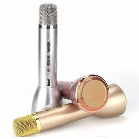 Microfono Karaoke Magic Inalambrico Bluetooth Parlante Usb