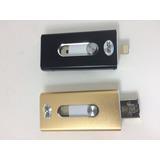 Adaptador Memória Externa Iphone 5 6 7 Ipad Pendrive Iflash