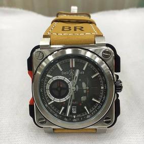 Relógio Bell & Ross Br-x1 Quatz Pulseira De Couro