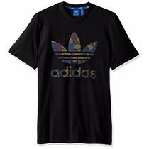 Camiseta Hombres Adidas Originals Negro Xxl