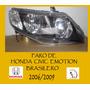 Faros Honda Civic Emotion 2006/ 2007/2008/2009 Brasilero