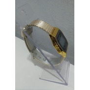Relógio Dourado Bolo-1792