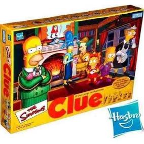 Clue Los Simpsons Quien Es El Culpable Hasbro Juego Mesa