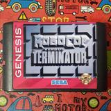 Juego Sega Terminator Vs Robocop Ntsc