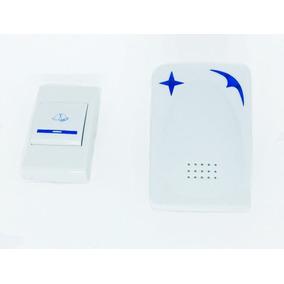 Campainha Residencial S/ Fio Bivolt Alarme Wireless 12 Toque