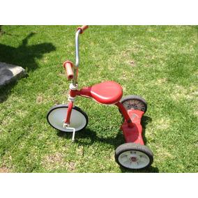 Triciclo Antiguo Apache Rojo Pequeño