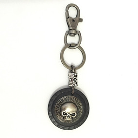 Chaveiro Skull Harley Davidson