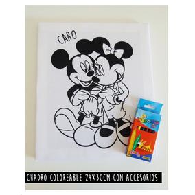 Cuadro Infantil Para Pintar 24x30 Cm. (con Crayones)