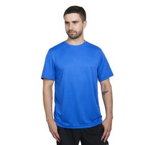 Polera Deportiva Dry Fit Azul Royal