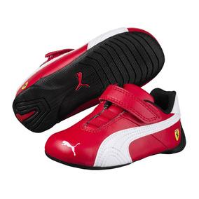 Tenis Puma Ferrari Sf Future Cat V Inf Rojo No. 36087812
