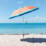 Sombrilla Para Playa Tommy Bahama Protectcion Upf / Spf 100+