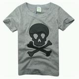 Camiseta Infantil De Cavera Menino
