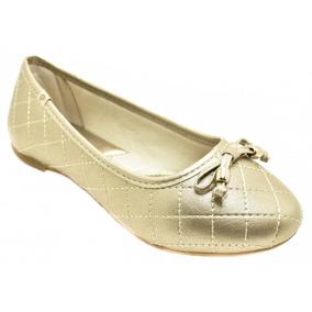3c96553cb Sapatilha Dourada Infantil Pampili Infantis - Sapatos no Mercado ...