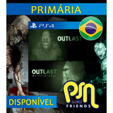 Outlast Bundle Of Terror + Dlc - Ps4 Psn Br Orig 1ª
