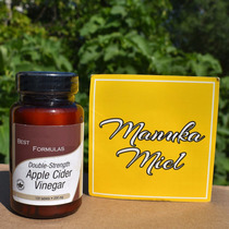 Vinagre De Manzana 120 Tabletas 100 % Natural