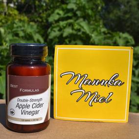 Vinagre De Manzana 120 Tabletas 100 % Natural