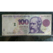 Billete De 100 Convertible Serie Vieja