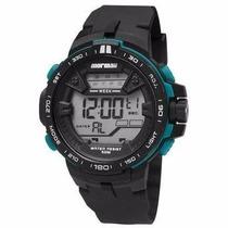 Relógio Mormaii Masculino Wave Digital Mo3390/8v Wr 100m/