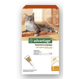 Pack 3 Un | Advantage Pipeta Gato Hasta 4 Kilos
