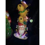 Reno Navidad Nochebuena Adornos Decoracion Led Musical