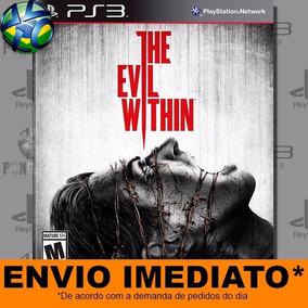 Jogo Ps3 The Evil Within Psn Play 3 Mídia Digital