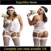 Casamento Lingerie Espartilho Noiva Sexy Lua De Mel Fantasia