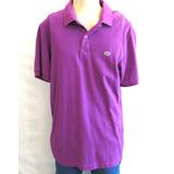 Camisa Polo Ecko Unltd Roxa Importada Original Tamanho G