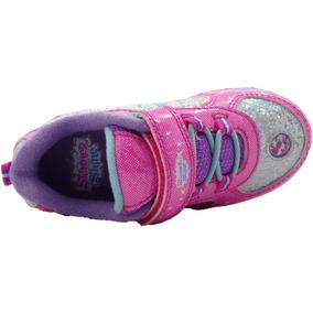 Zapatillas Shimmer And Shine Con Luces Usa T27