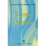 Livro Latim Forense Marco Antônio Martins Pereira