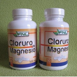 Cloruro De Magnesio 2 Frascos + Asesoria Indefinida