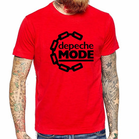 Remera Depeche Mode Cadena Roja Musica Somos Local Y Envios!