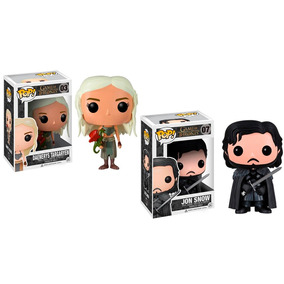 Funko Pop! Game Of Thrones - Daenerys Targa. 03 + Jon Snow