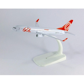 Aviao Miniatura Gol Boeing 737 800 Maquete Metal