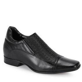 Sapato Aumenta Altura Masculino Rafarillo Vegas Alth - Preto