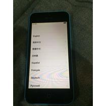 Iphone 5c 16gb Usado Sin Reporte Ni Icloud Funcionando 100%