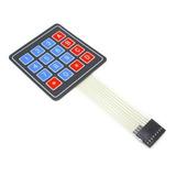 Teclado Matricial 4x4 De Membrana Arduino Pic Refactronika
