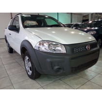 Fiat Strada Working Doble Cabina-anticipo $50.000 O Usado