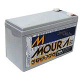 Kit 3 Baterias Selada Vrla P/ Alarme Nobreak 12v 7ah Moura