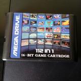 Cartucho Multijuegos 112 En 1 Sega Genesis + Envio Gratis
