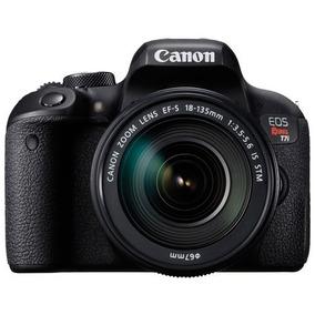 Camara Canon T7i Reflex Kit Lente 18-55 Mm + 32gb C10 Mdp