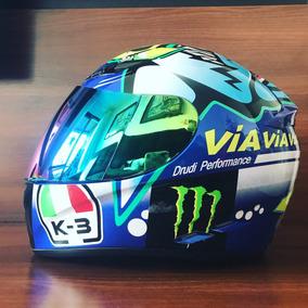 Capacetes Nemo Tubarão Gp Misano Valentino Rossi