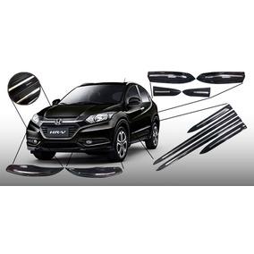 Kit Friso Personalizado Cromado Porta E Parachoque Honda Hrv