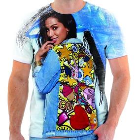 Camiseta Camisa Blusa Person Música Anitta - Di - Ref:008