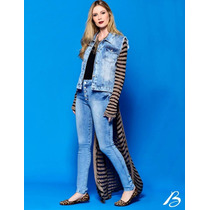 Colete Jeans Feminina Lindo