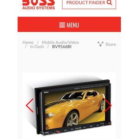 Autoestereo Boss Seminuevo!! Jala Al 100!!! Touch Bluetooth!