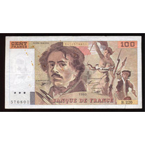 Billete Francia 100 Francos 1993 P. 154g Vf