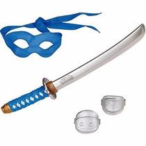 Espada Katana Tartaruga Ninja Acessorio Fantasia Leonardo