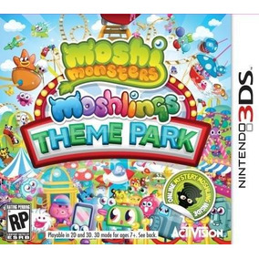 Moshi Monsters-moshlings-theme Park - 3ds